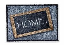 Bild: ASTRA Sauberlaufmatte - Deco Brush Home Schild
