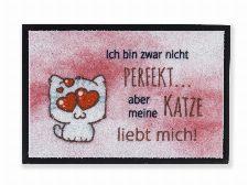 Bild: ASTRA Sauberlaufmatte - Print Katze (Katze)