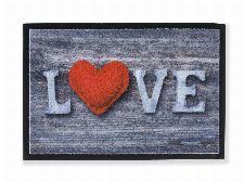 Bild: ASTRA Sauberlaufmatte - Print Love (Love)