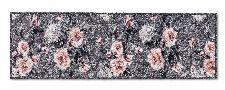 Bild: ASTRA Schmutzfangmatte - Pure und Soft Blumen (Grau; 150 x 50 cm)