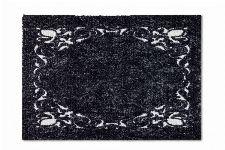 Bild: ASTRA Schmutzfangmatte - Miabella Ornamentbordüre (Schwarz; 70 x 50 cm)