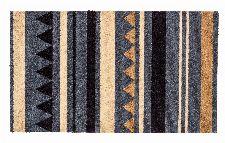 Bild: ASTRA Schmutzfangmatte - Miabella Streifen (Grau/Braun; 150 x 50 cm)