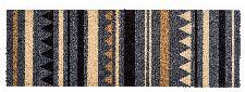 Bild: ASTRA Schmutzfangmatte - Miabella Streifen (Grau/Braun; 110 x 66 cm)