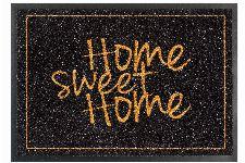 Bild: ASTRA Schmutzfangmatte - Homelike Home sweet home (Schwarz/Gold)