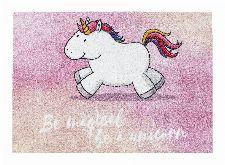 Bild: ASTRA Schmutzfangmatte - Happy Home Einhorn magical (Rosa)