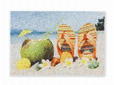 Bild: ASTRA Schmutzfangmatte - Deco Print Flip Flops