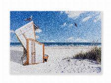 Bild: ASTRA Schmutzfangmatte - Deco Print Strandkorb