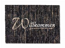 Bild: ASTRA Schmutzfangmatte - Felicido Willkommen (Schwarz/Braun)