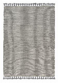 Bild: Schöner Wohnen Kelim Teppich Insula (Grau; 200 x 140 cm)