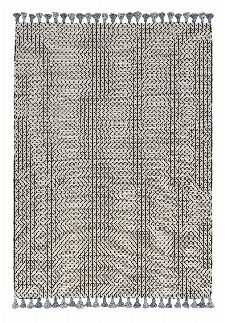 Bild: Schöner Wohnen Kelim Teppich Insula (Blau/Grün; 300 x 200 cm)
