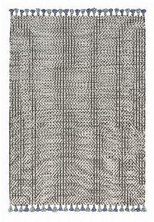 Bild: Schöner Wohnen Kelim Teppich Insula (Blau/Grün; wishsize)