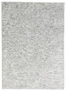 Bild: Schöner Wohnen Viskose Teppich Aura (Silber; 140 x 200 cm)