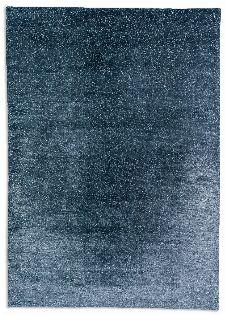 Bild: Schöner Wohnen Viskose Teppich Aura (Blau; 140 x 200 cm)