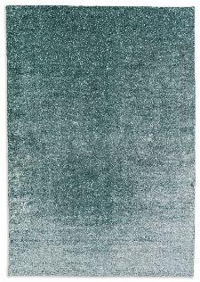 Bild: Schöner Wohnen Viskose Teppich Aura (Grün; 140 x 200 cm)