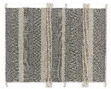 Bild: SCHÖNER WOHNEN Flachgewebeteppich - Botana Streifen (Beige/Grau; 200 x 140 cm)
