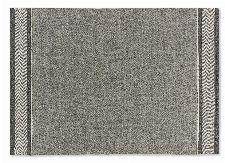 Bild: SCHÖNER WOHNEN Flachgewebeteppich - Botana Blockstreifen (Beige/Grau; 240 x 170 cm)
