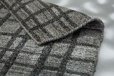 Bild: SCHÖNER WOHNEN Flachgewebeteppich - Cosetta Gitter (Grau; 200 x 140 cm)