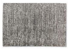 Bild: SCHÖNER WOHNEN Flachgewebeteppich - Alessa Streifen (Silber; 200 x 140 cm)