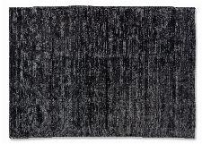 Bild: SCHÖNER WOHNEN Flachgewebeteppich - Alessa Streifen (Anthrazit; 200 x 140 cm)