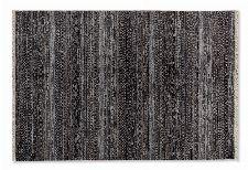 Bild: SCHÖNER WOHNEN Kurzflorteppich - Mystik Vintage Streifen (Dunkelgrau; 140 x 70 cm)