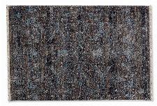 Bild: SCHÖNER WOHNEN Kurzflorteppich - Mystik Vintage Orient hellblau (Grau; 235 x 160 cm)