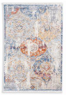Bild: Schöner Wohnen Vintage Teppich Mystik - Ornament - Silber