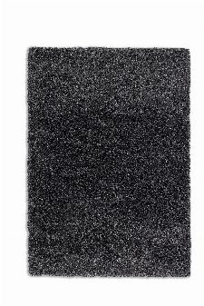 Bild: Schöner Wohnen Hochflor Teppich - Savage (Anthrazit; 130 x 67 cm)