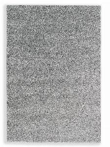 Bild: Schöner Wohnen Hochflor Teppich Pure (Silber; 130 x 67 cm)