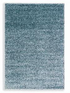 Bild: Schöner Wohnen Hochflor Teppich Pure (Türkis; 130 x 67 cm)