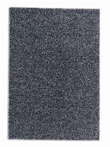 Bild: Schöner Wohnen Hochflor Teppich Pure (Anthrazit; 130 x 67 cm)