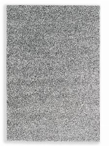 Bild: Schöner Wohnen Hochflor Teppich Pure (Silber; 190 x 133 cm)