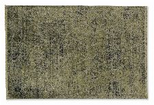 Bild: SCHÖNER WOHNEN Designteppich - Velvet Orient (Olivgrün; 290 x 200 cm)