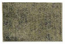 Bild: SCHÖNER WOHNEN Designteppich - Velvet Orient (Olivgrün; 230 x 160 cm)