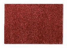 Bild: SCHÖNER WOHNEN Hochflorteppich - Joy Meliert (Rot; 190 x 133 cm)