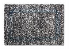 Bild: ASTRA Hochflorteppich - Savona Bordüre (Grau/Blau; 130 x 67 cm)
