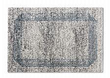 Bild: ASTRA Hochflorteppich - Savona Bordüre (Creme/Blau; 190 x 133 cm)