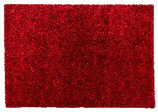Bild: Astra Hochflor Teppich Matera (Rot; 150 x 80 cm)