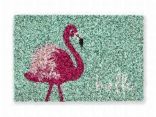 Bild: ASTRA Kokosmatte - Coco Style Flamingo
