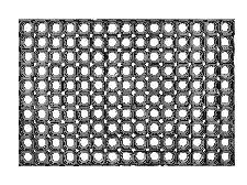 Bild: ASTRA Gummimatte - Quadro light (Schwarz; 60 x 40 cm)