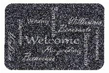 Bild: ASTRA Türmatte - Basic Welcome Sprachen (Grau)