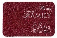 Bild: ASTRA Türmatte - Basic Family (Rot)