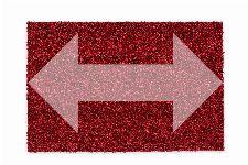 Bild: ASTRA Kokosmatte Kokosvelours Colors - individuelle Länge (Rot; 200 cm)