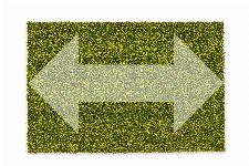 Bild: ASTRA Kokosmatte Kokosvelours Colors - individuelle Länge (Grün; 200 cm)