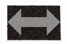 Bild: ASTRA Kokosmatte Kokosvelours Colors - individuelle Länge - Schwarz