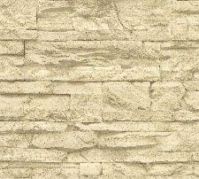 Bild: Wood`n Stone Vlies-Tapete 707130 (Sand)