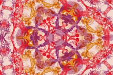 Bild: AP Digital - Blossom Pentacle - 150g Vlies (4 x 2.7 m)