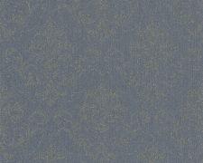 Bild: Haute Couture 3 Ornamenttapete - 290366 (Blau)